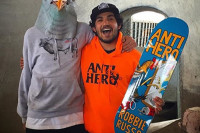 Robbie Russo pro for Anti Hero