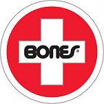 Bones® Bearings Swiss Round Sticker (Single)