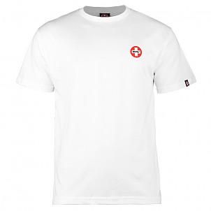 Bones® Bearings Small Swiss Logo T-Shirt - White