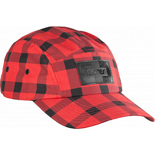 Bones Bearings Plaid 5 Panel Cap
